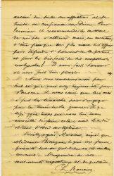 Charles Ranaivo à Jean Bianquis - octobre 1915 - page 4