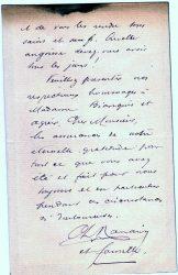 Charles Ranaivo à Jean Bianquis - décembre 1916 - page 3