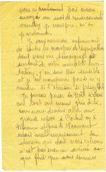 Courrier de Joseph Ranaivo, décembre 1915 - page 2 Dans les tranchées