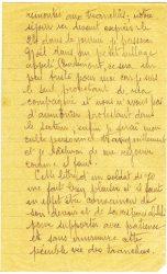 Courrier de Joseph Ranaivo, décembre 1915 - page 3 Dans les tranchées