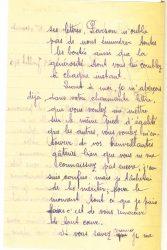 Courrier de Joseph Ranaivo, juillet 1915 - page 2 Hyères, Var