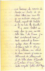 Courrier de Joseph Ranaivo, juillet 1915 - page 3 Hyères, Var