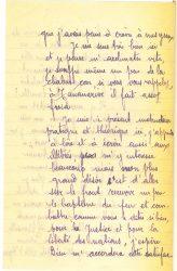 Courrier de Joseph Ranaivo, juillet 1915 - page 4 Hyères, Var
