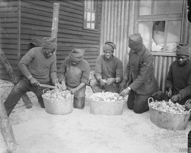 Corvée de pommes de terre