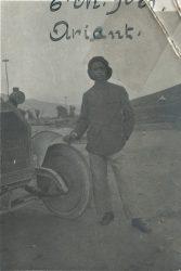 Soldat malgache engagé dans l'Armée d'Orient - janvier 1919