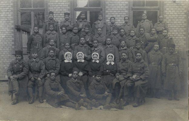 Soldats malgaches en Allemagne