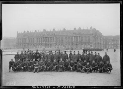Visiteurs à Versailles