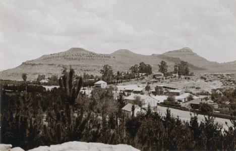 Vue sur Maseru, la capitale