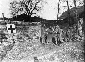 Poste de secours dans la Marne