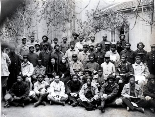 Tirailleurs malgaches, Toulon, fin février 1917