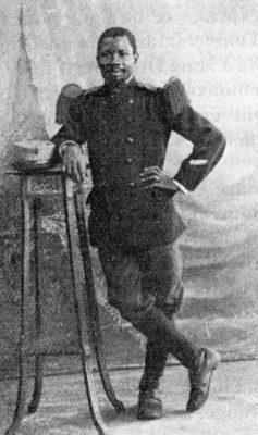 Samuel Vauvert, instituteur de Pont-de-Khor au Sénégal
